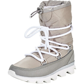 Sorel Kinetic Bottes Femme, chrome grey/white